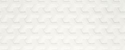 Harmony Bianco Ściana A STRUKTURA 30x60 PARADYZ