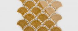Mozaika Flabellum Amber Raw Decor