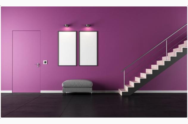 POL-SKONE drzwi ukryte do malowania HARMONY