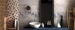 Etnic White 25x75 Ceramika Color