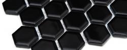 Mozaika Heksagon mały czarny DUNIN