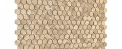 Mozaika Allumi Gold Hexagon DUNIN