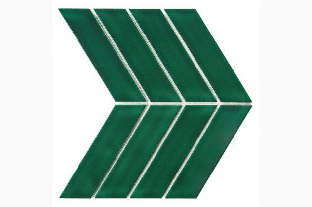 Mozaika Royal Chevron Vert DUNIN