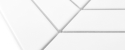 Mozaika Royal Chevron White Matt DUNIN
