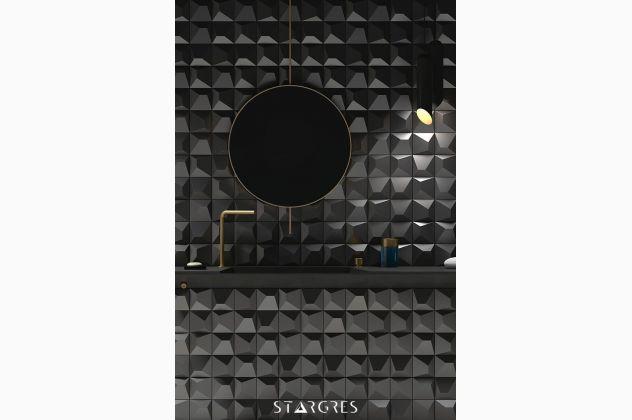 3D ANTRAZITE 12,5x12,5 Stargres