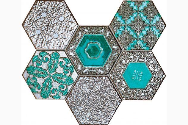 Mozaika Lace absinthe Tubądzin