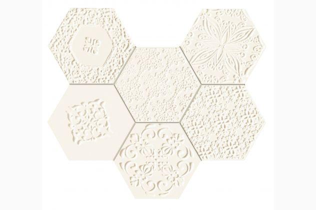 Mozaika Elementary hex Tubądzin