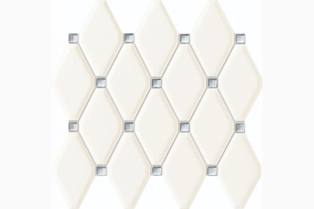 Mozaika Abisso white 29,8x27 Tubądzin