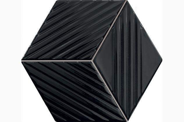 Mozaika Colour black Tubądzin
