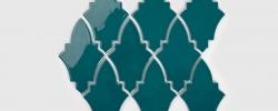 Mozaika Shield Ocean Granate Raw Decor
