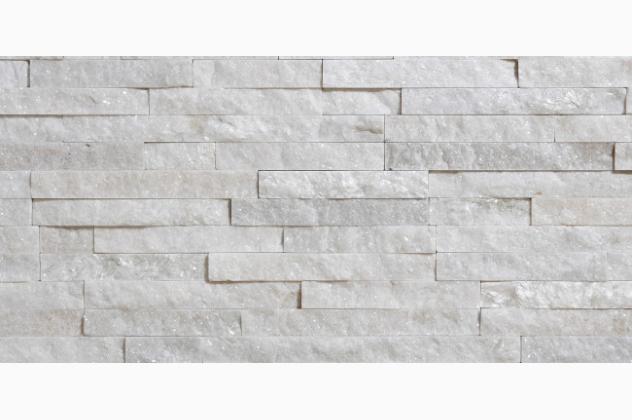 Kamień naturalny Bianco 10x40 Stegu