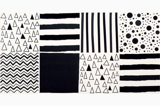 TIBI GEO 2 30,8x60,8 Domino