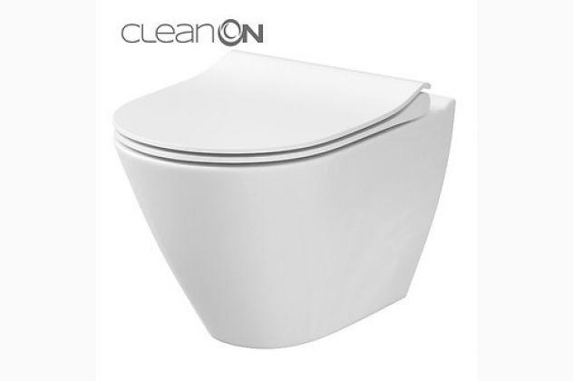 Miska wc City Oval CleanOn Cersanit