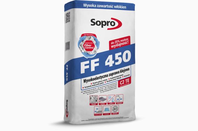 FF 450 Wysokoelastyczna zaprawa klejowa Sopro