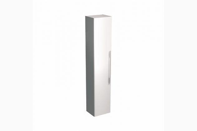 Szafka wisząca boczna TRAFFIC 36 x 180 x 29,5 cm, biały połysk KOŁO