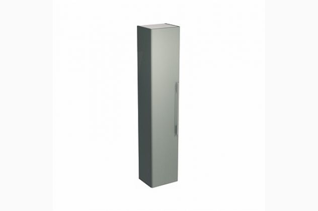 Szafka wisząca boczna TRAFFIC 36 x 180 x 29,5 cm, platynowy połysk KOŁO