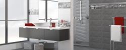Amsterdam Grey 20x50 Ceramika Końskie